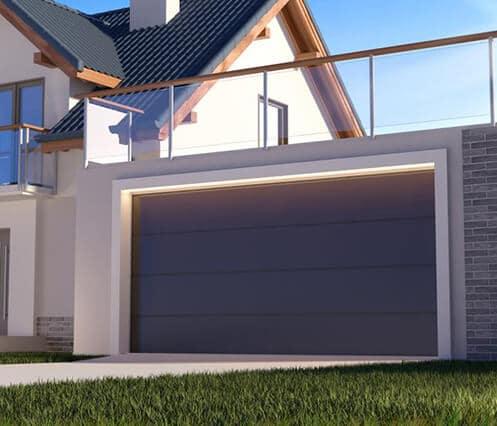 Nietypowy Okaz Segmentowe bramy garażowe - Okna Debow FB83