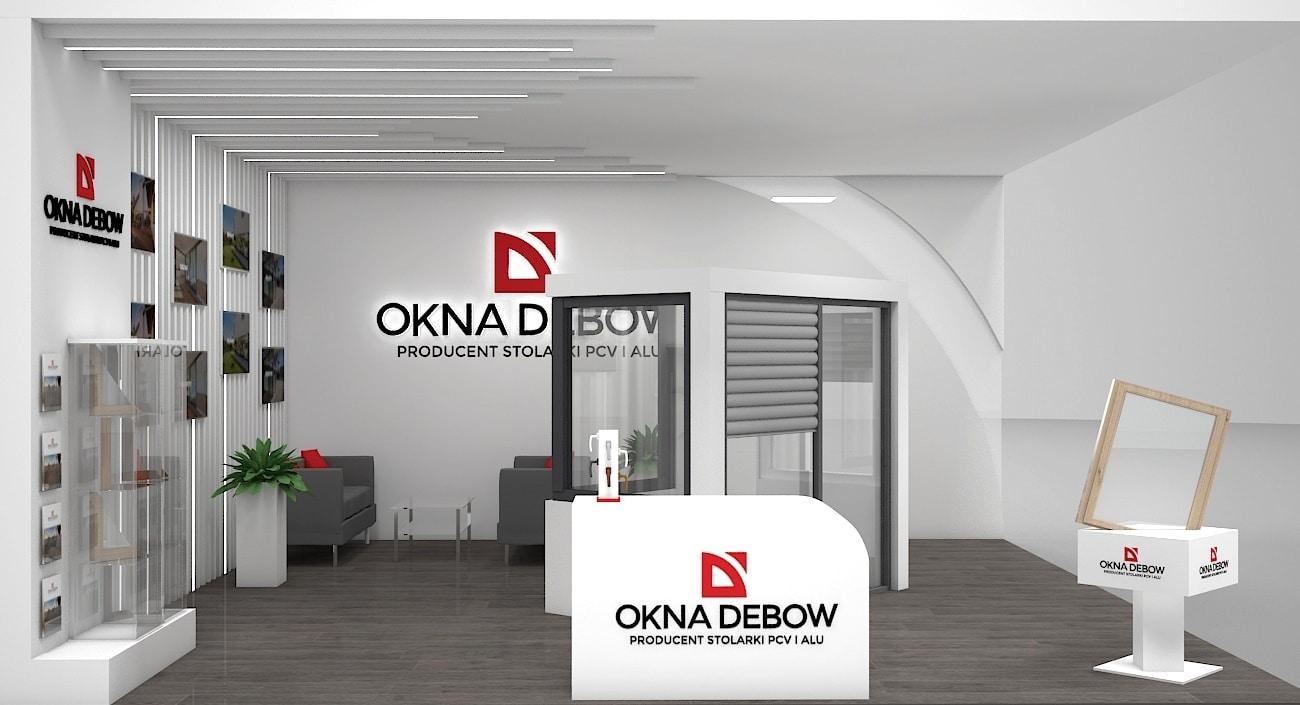Okna Debow stoisko