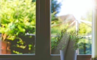 Okno odporne na wysoką temperaturę